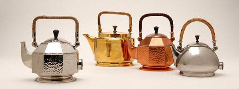 Peter Behrens: Elektrische Tee- und Wasserkessel, 1909; © Die Neue ...