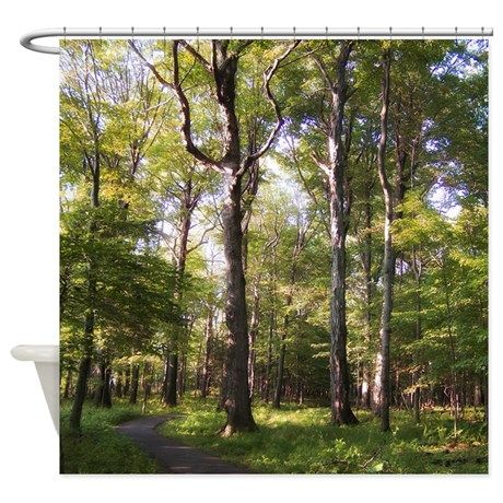 Nature Shower Curtains nature trail shower curtain | nature, shower curtains and showers
