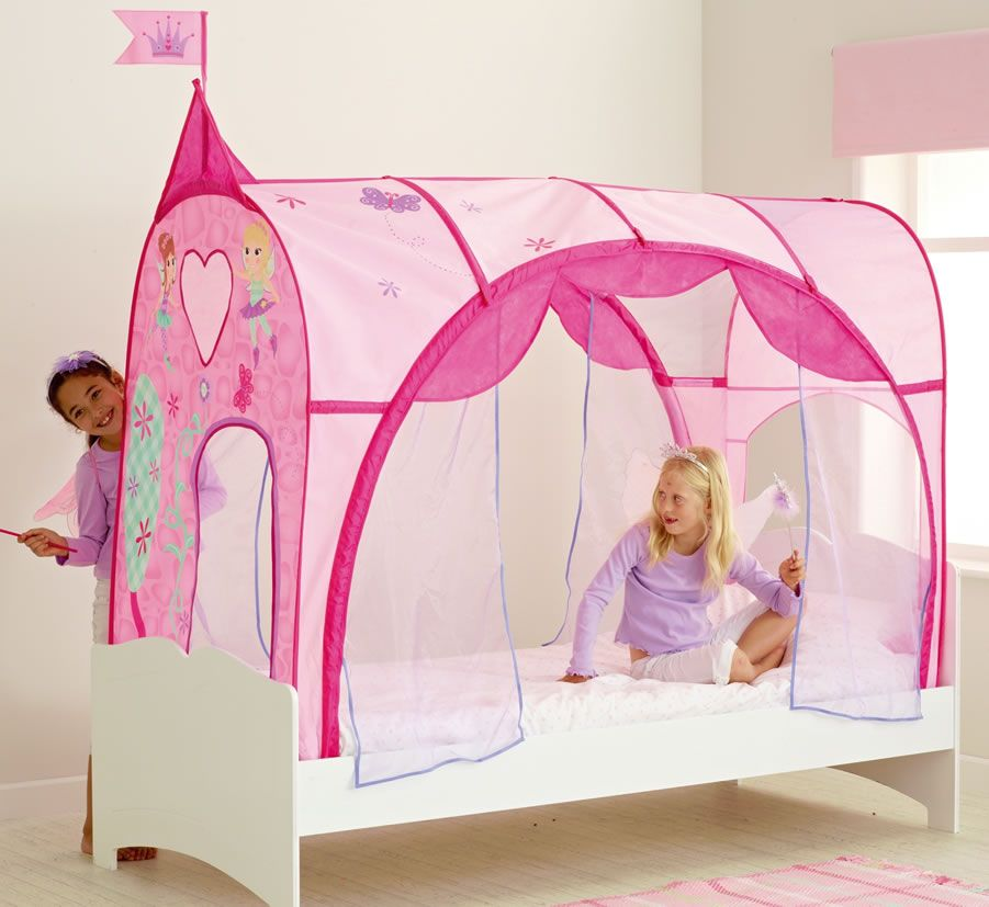 Girls Bed Tent Girls Pink Princess Bed Canopy Pink And