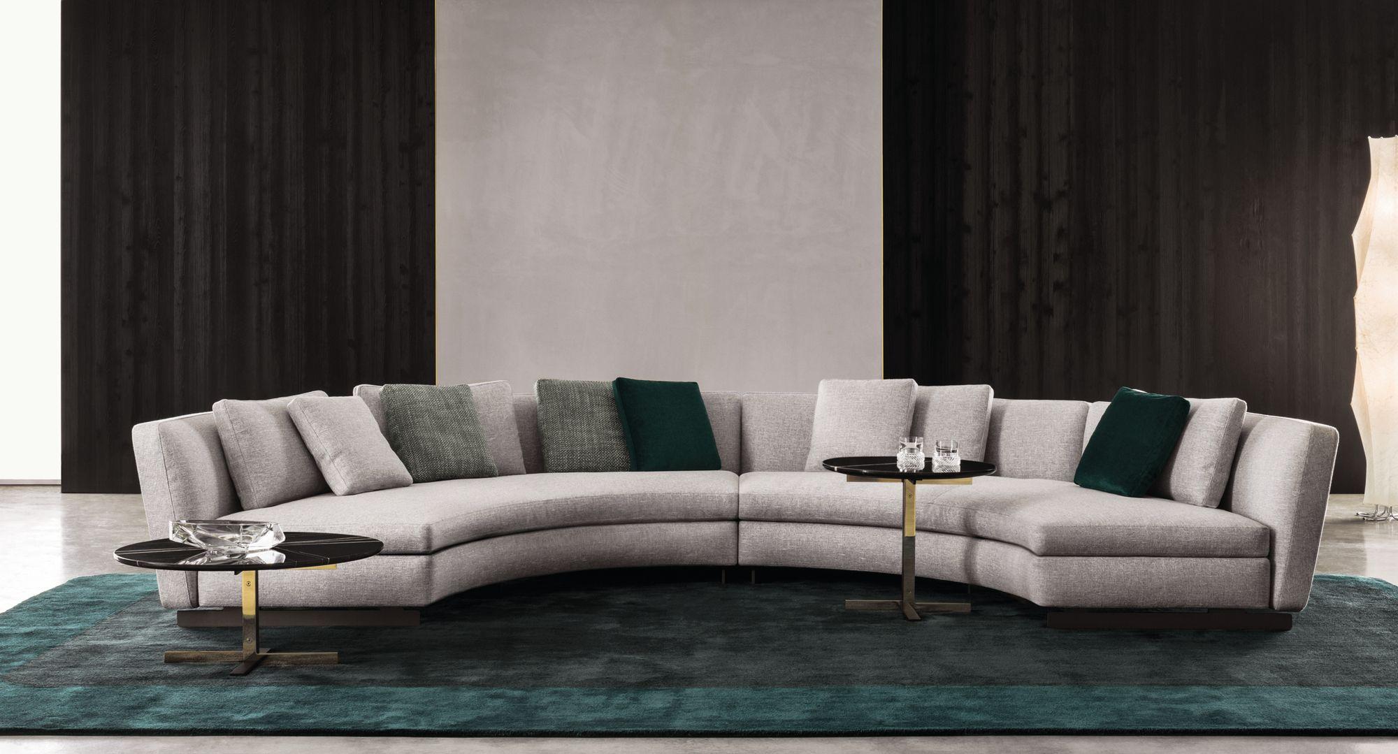 Seymour Sofa By Rodolfo Dordoni For Minotti Round Design Furniture