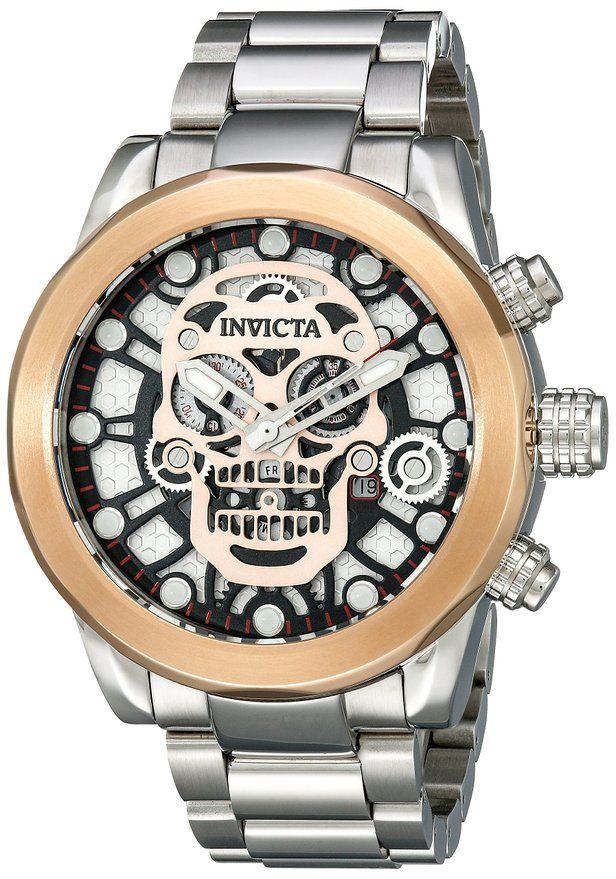 Invicta Men's 18865 Corduba Analog Display Swiss Quartz Silver Watch