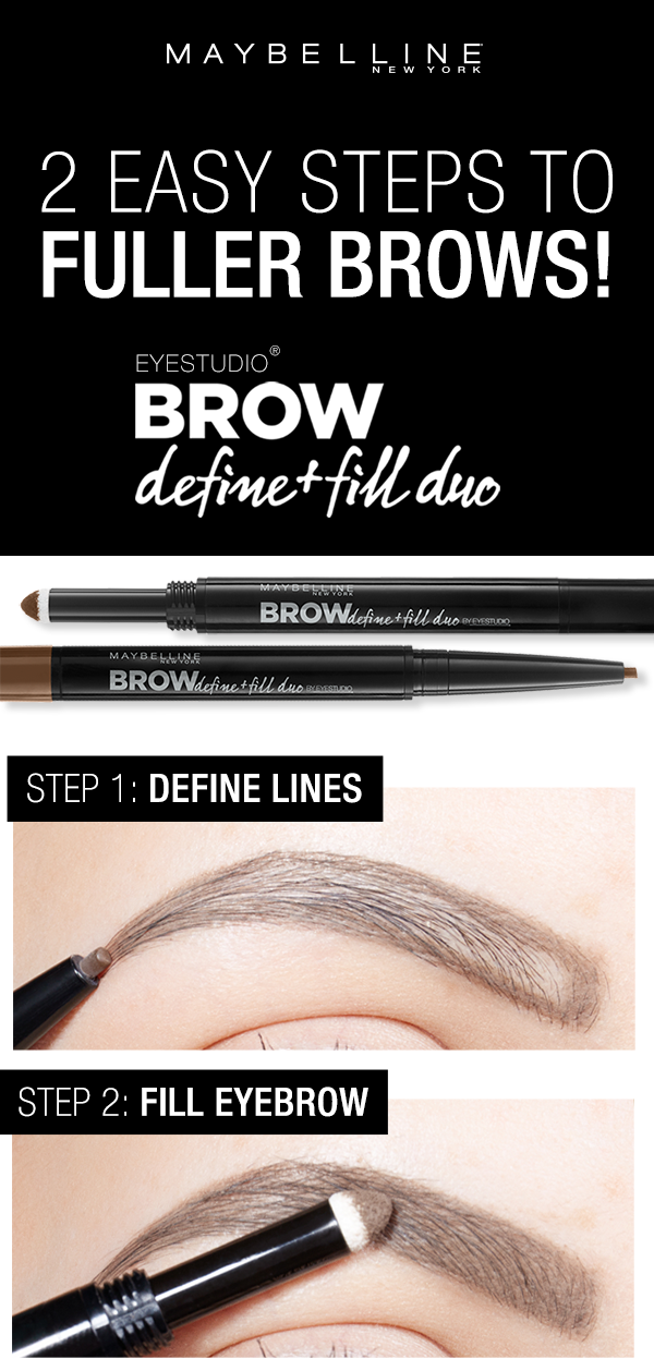 Brow Play Studio | Eyebrow Shapes Try On | Maybelline