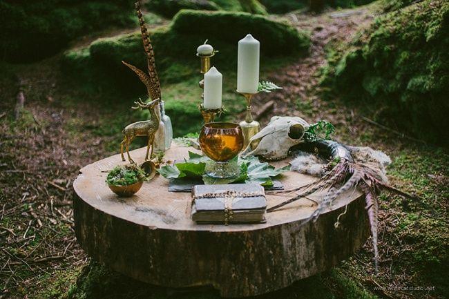 Woodland Wedding Inspiration. Natural and Rustic. Magical Irish Woodland Wedding ✈ Styled Shoot with White Cat Studio