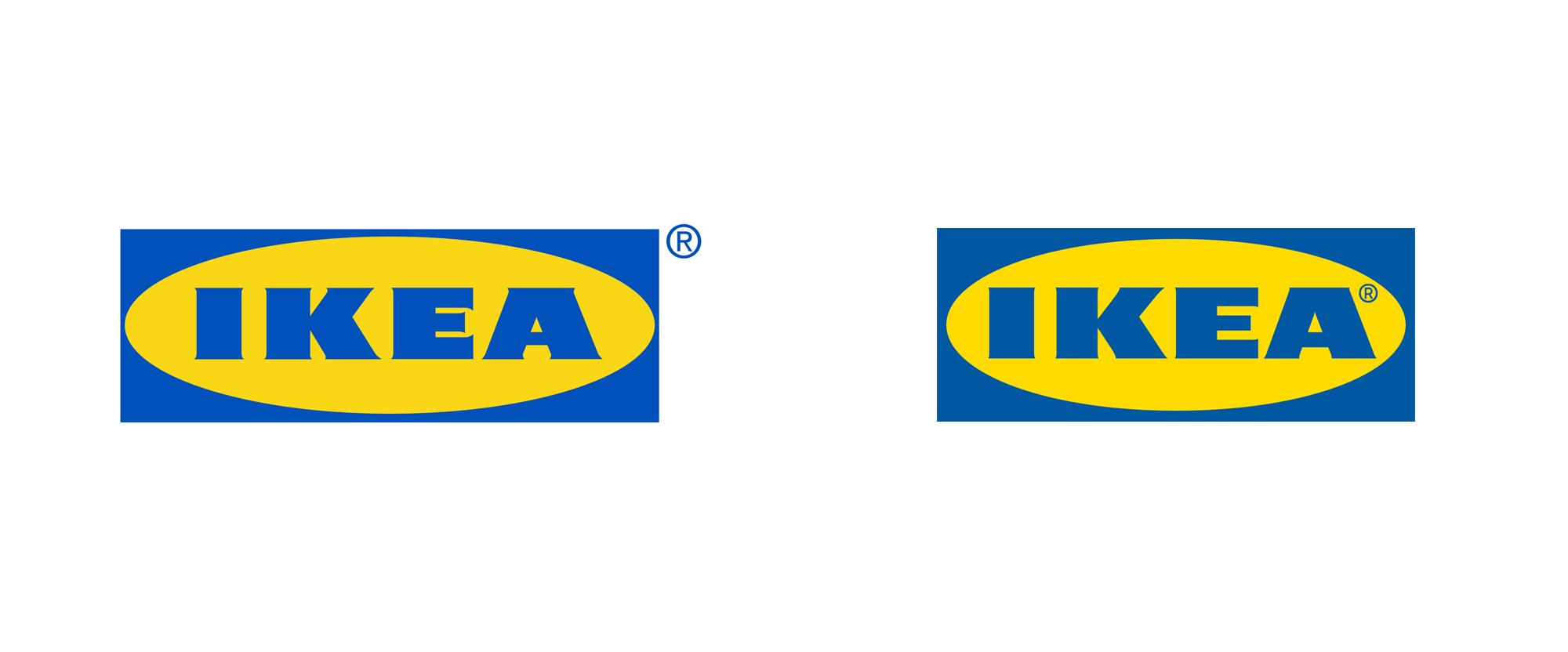 Ikea Marked The Change New Logo For Ikea 138042 Xyz The Design Ikea Logo Diy Furniture Plans Ikea New