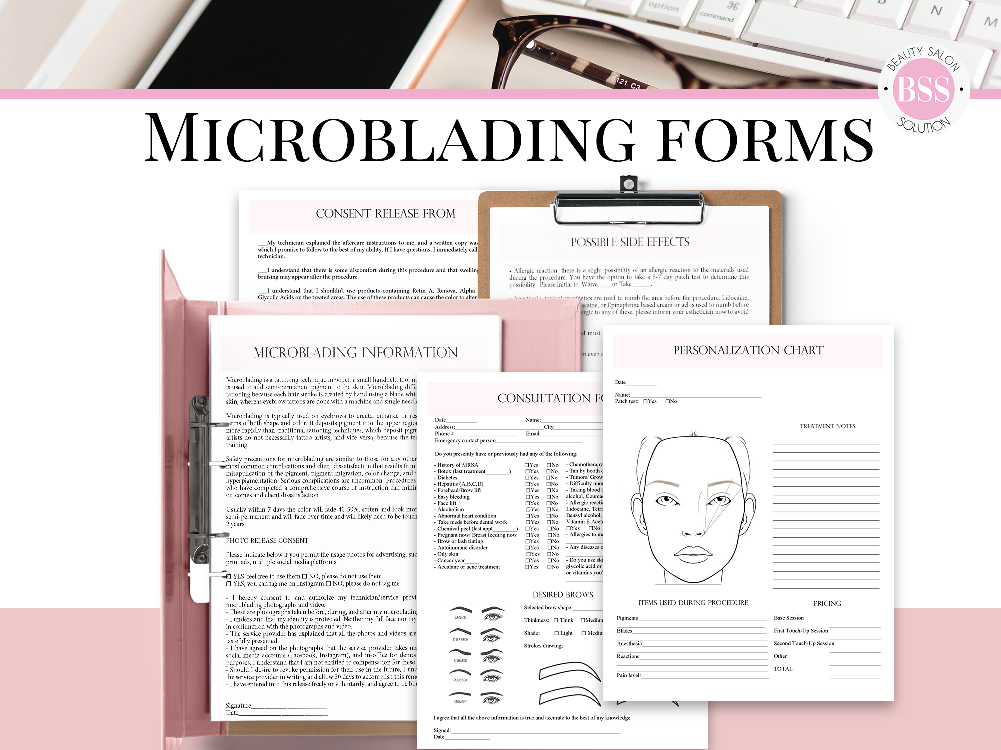 Microblading Business Forms Beauty Salon Solution in 2020
