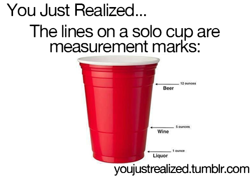 Pin By Diane Harmening On Iffyness You Just Realized Solo Cup Life Hacks