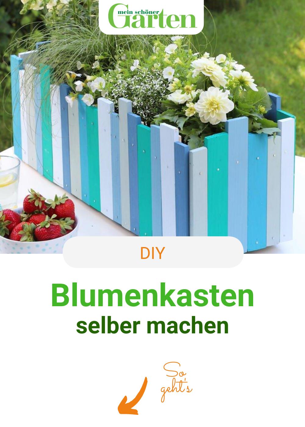DIY-Kreativ: Blumenkasten bauen