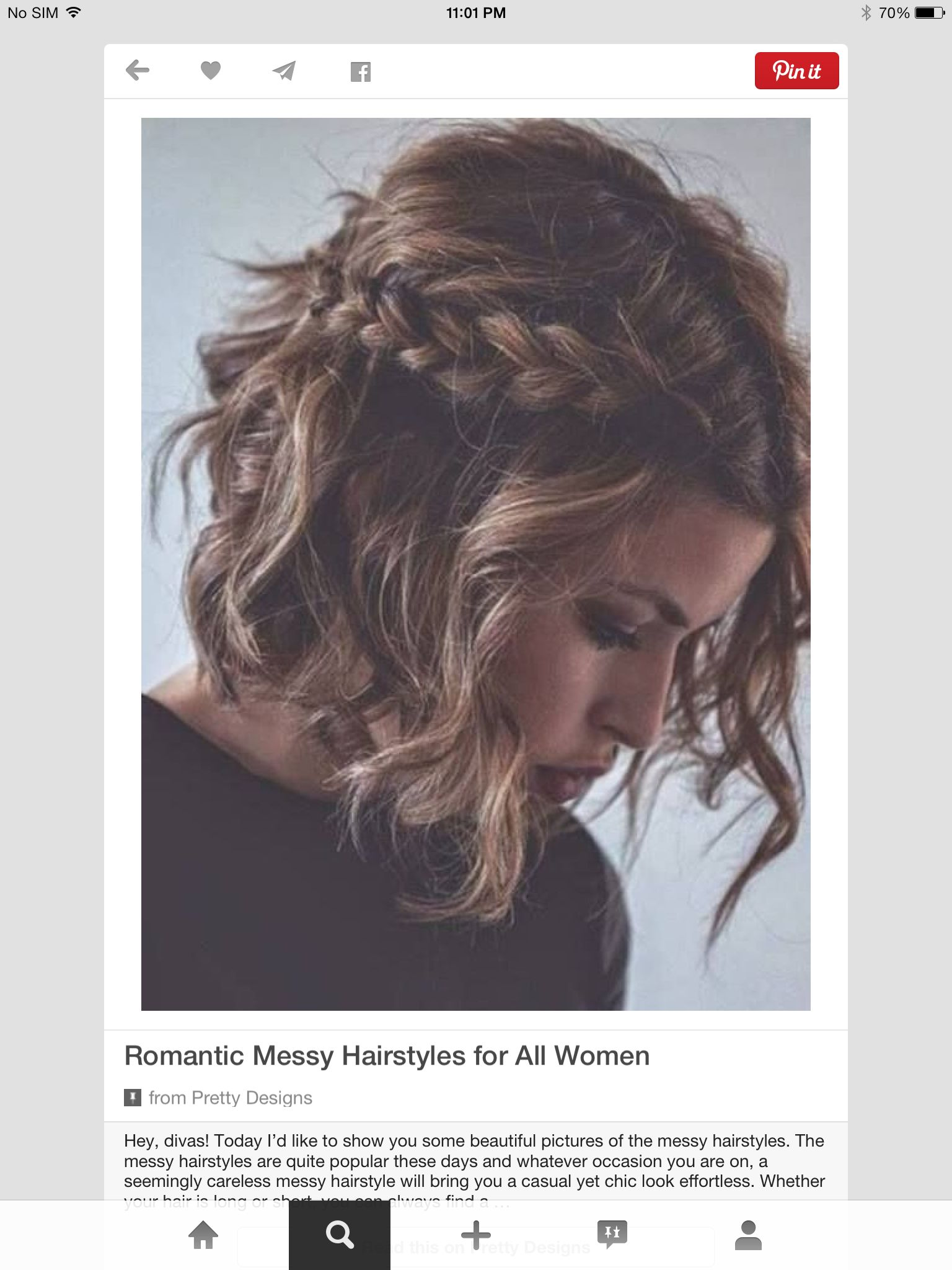 Pin by Valerie Vertin Heath on Hairdodadodadoda  Pinterest  Hair