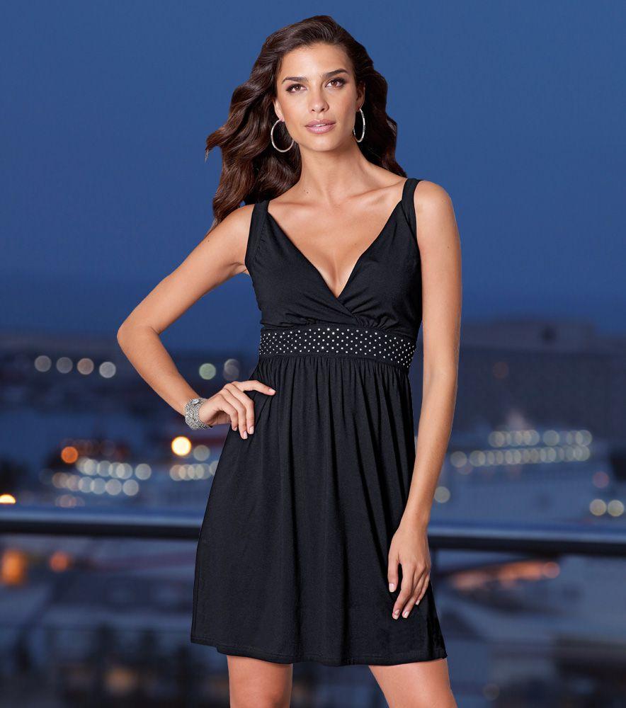 buscar oficial diseño moderno muchos estilos Vestido fiesta mujer sin mangas Moda Mujer 25 Venca | moda ...