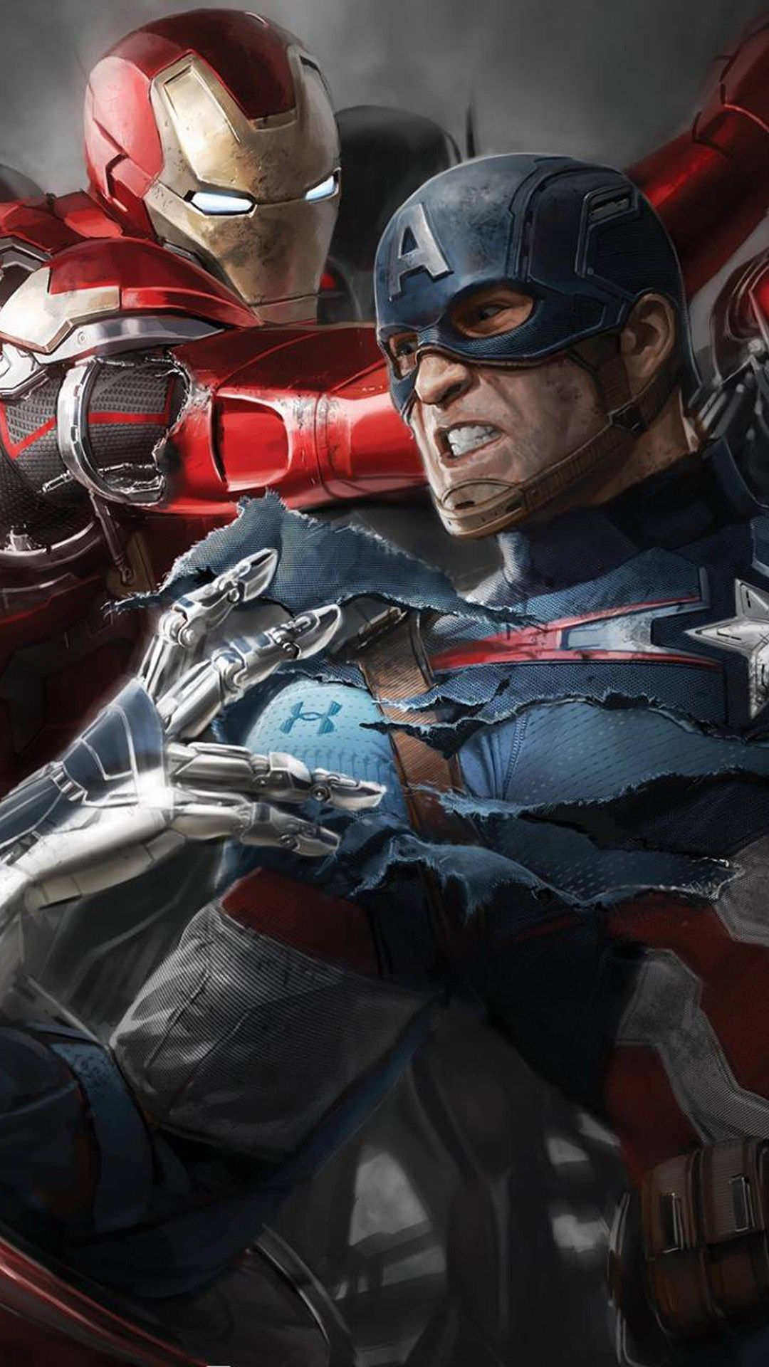 Captain America Civil War Hd Wallpapers For Iphone Apple