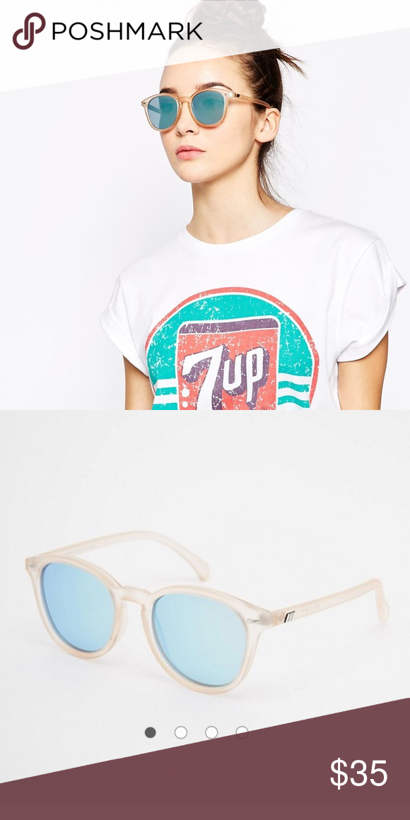 21146205c3 Le Specs Bandwagon mirror sunglasses New without tags. Comes with blue le  specs case. Sold out on ASOS Le specs Accessories Sunglasses