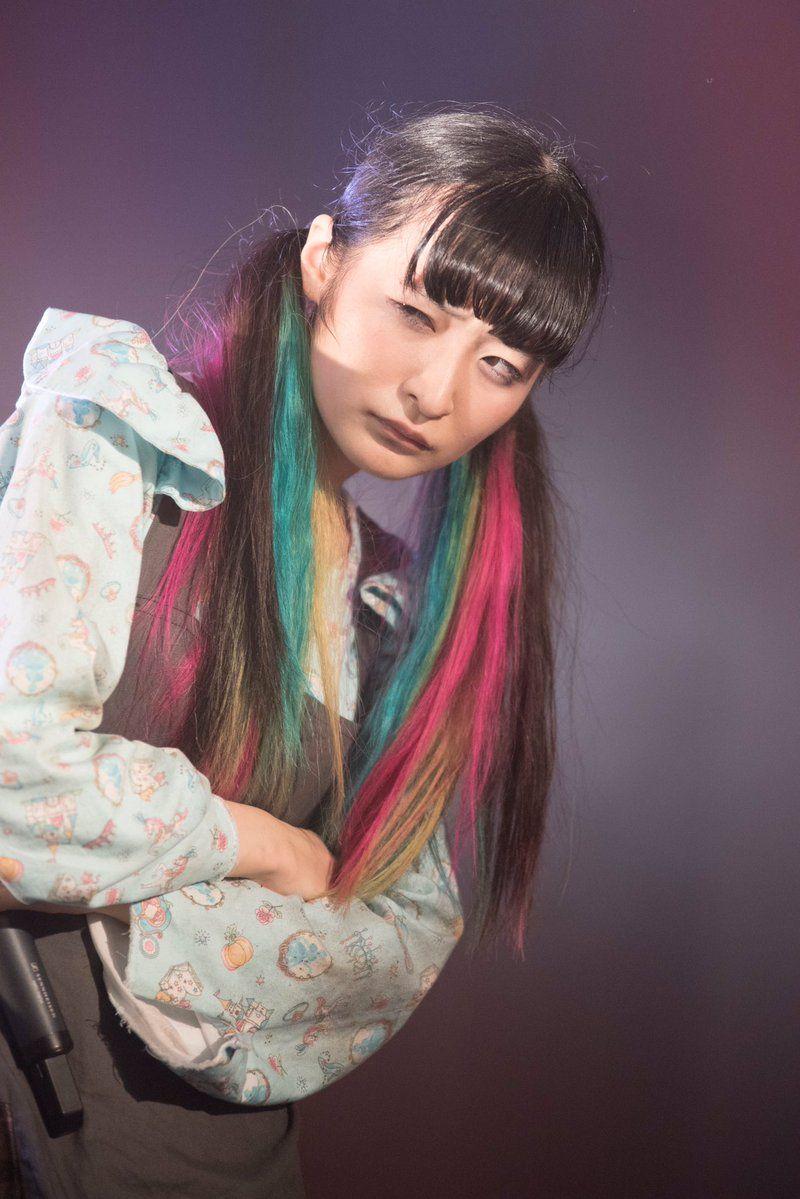 リンリン 髪型