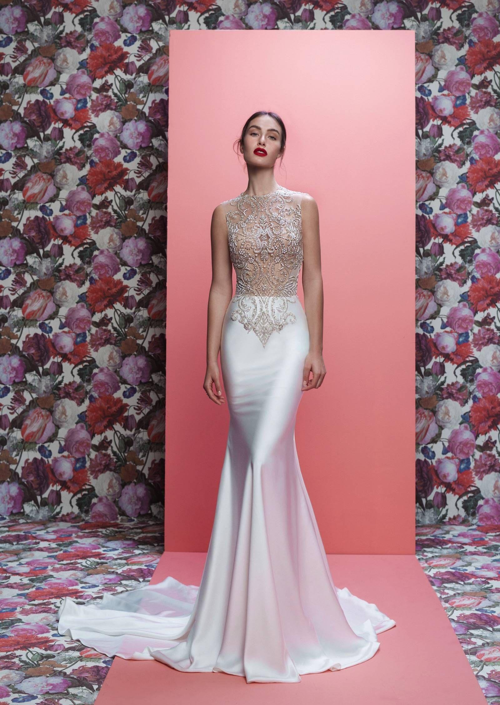 Perfecto Steven Khalil Precios Vestidos De Novia Cresta - Colección ...