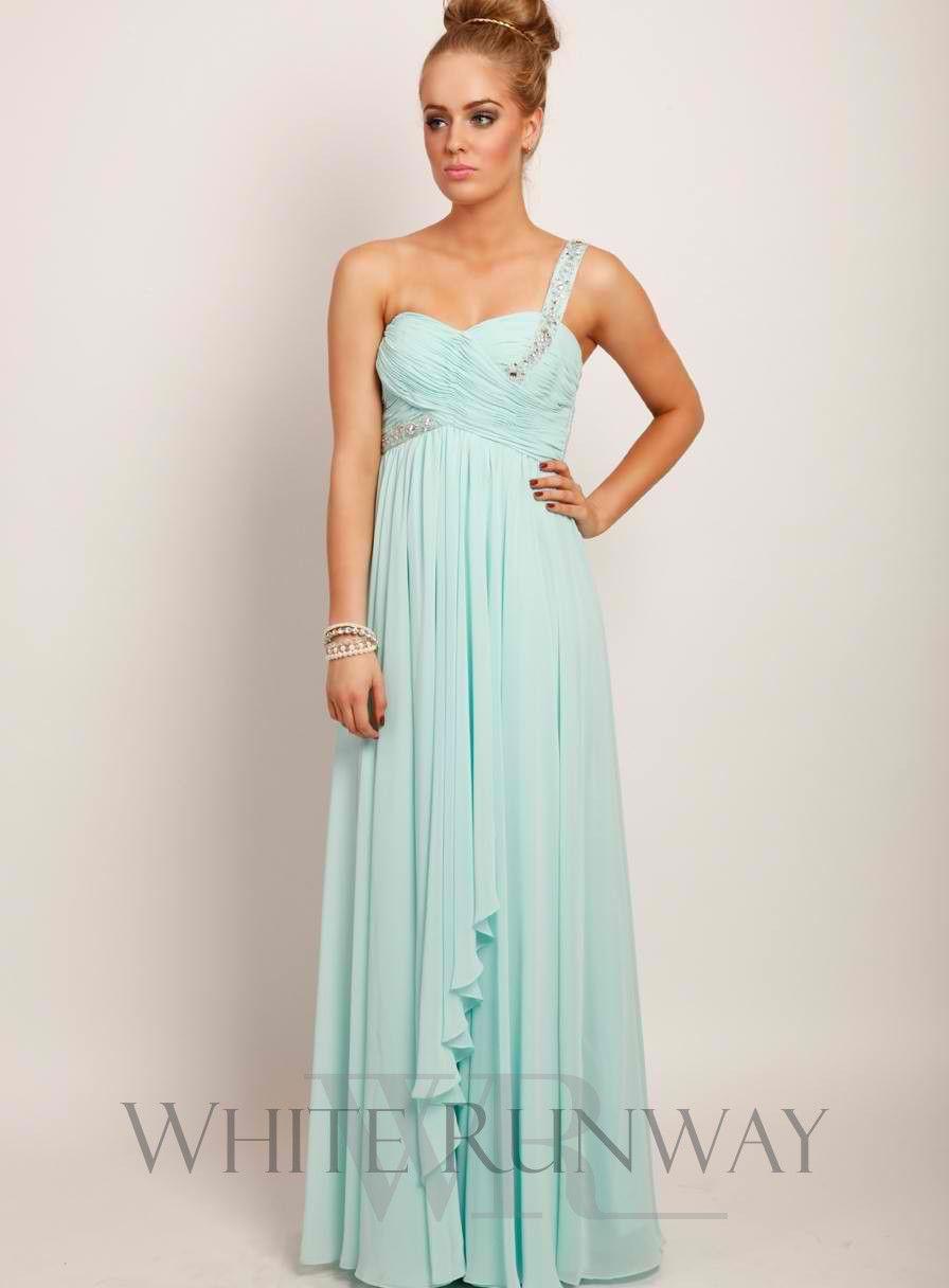 Embellished One Shoulder Dress | Wedding | Pinterest | Shoulder ...
