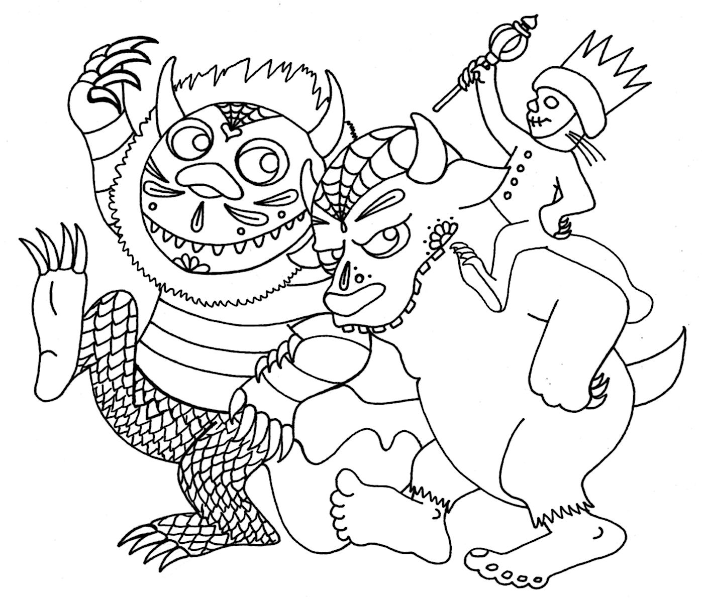 Yucca Flats N M Search Results For Where The Wild Things Are Coloring Pages Coloring Books Bear Coloring Pages