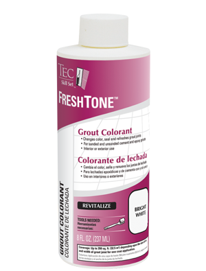 Refresh Or Change Tile Grout Color With Grout Colorant Buy At
