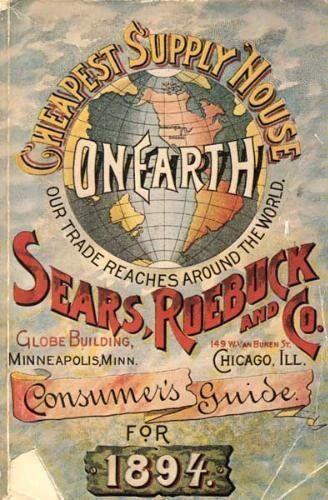 Vintage Reprint of 1894 Sears, Roebuck & Co. Catalog