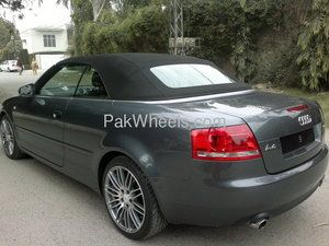 Audi A4 2007 For Sale In Lahore Almost Brand New Audi A4 1 8t Convertible 2007 Model Imported From Uk In 2011 Complete Custom Audi Convertible Audi A4 Audi