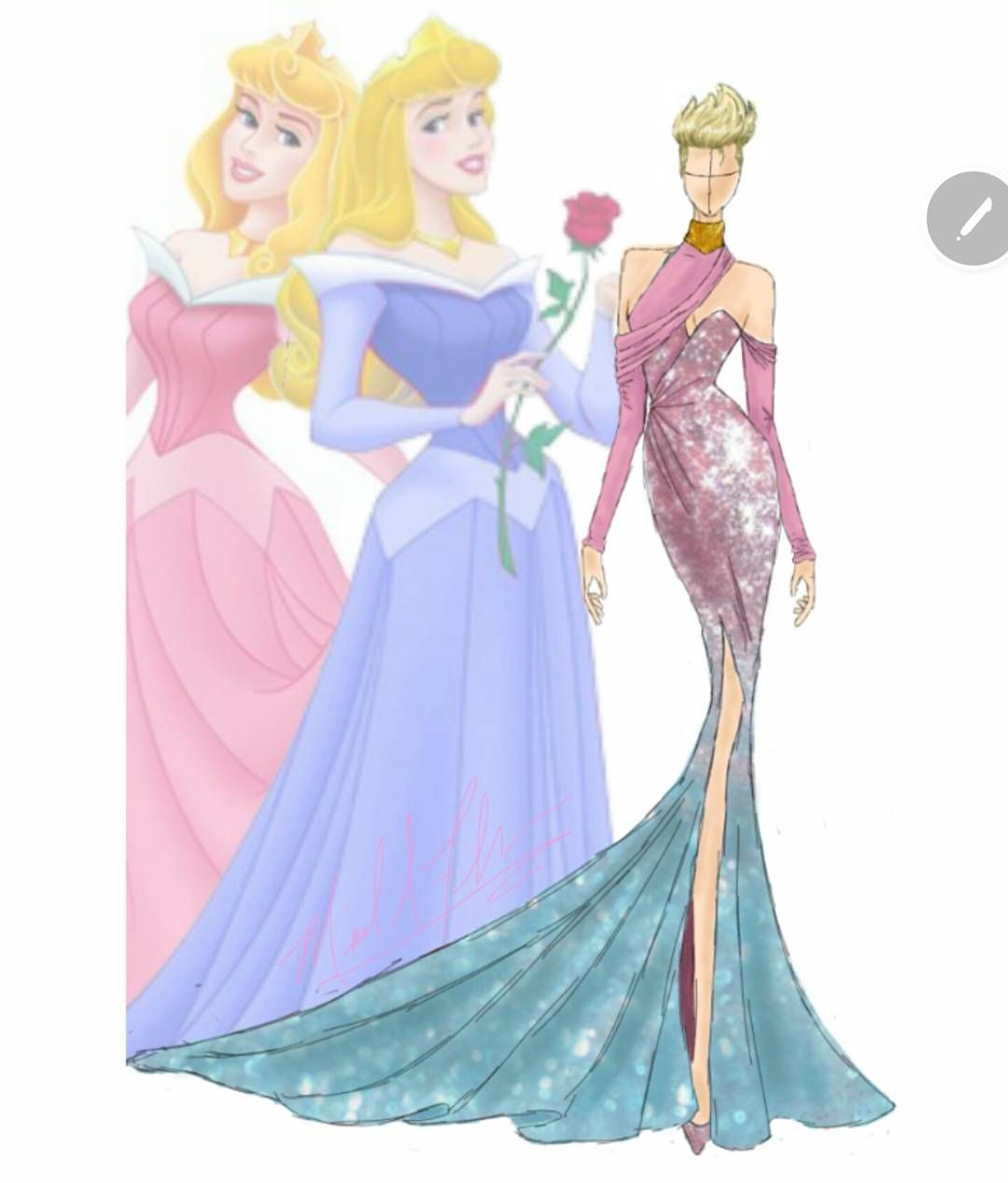 Fashion designer creates Disney Princess-inspired gown collection ...