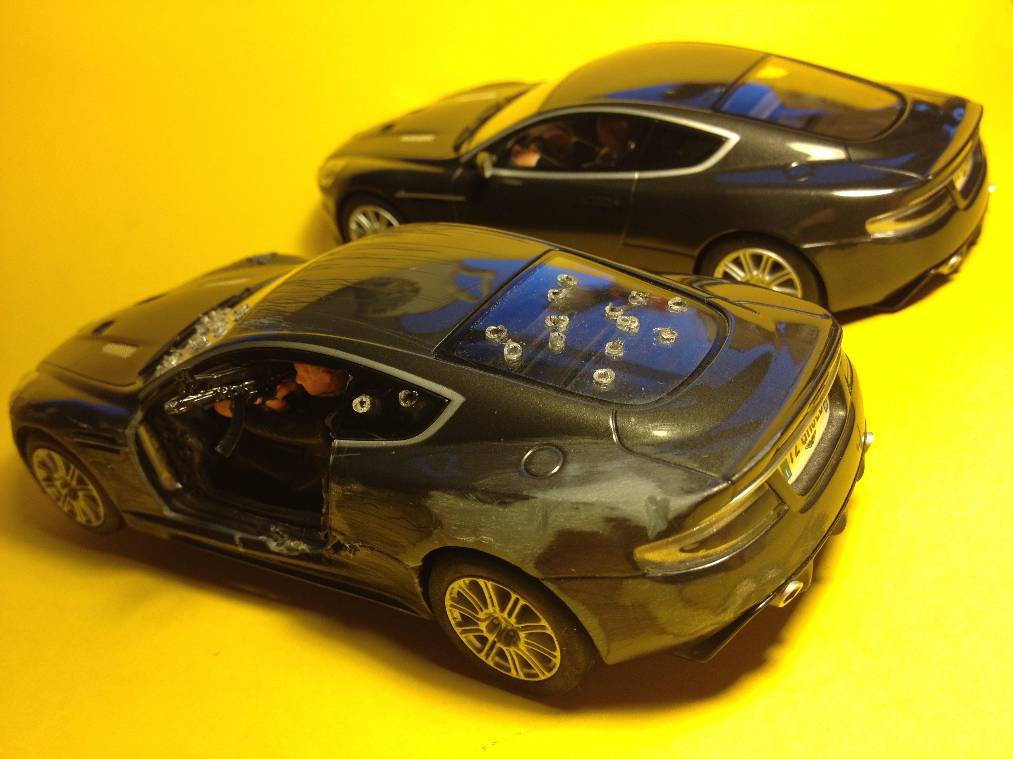 42 besten Custom Scalextric Aston Martin DBS Quantum of Solace