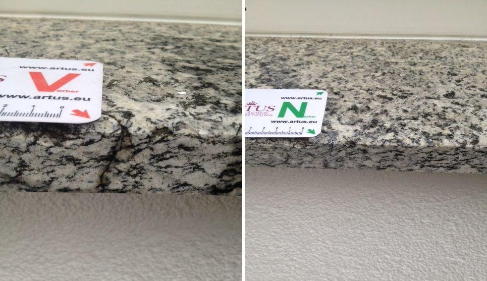 Riss Kratzer Instandsetzung Reparatur Be Fensterbank Granit Marmor Holz Kunststoff Www Artus Eu In 2020 Dachfenster Reparatur Fenster Insektenschutz