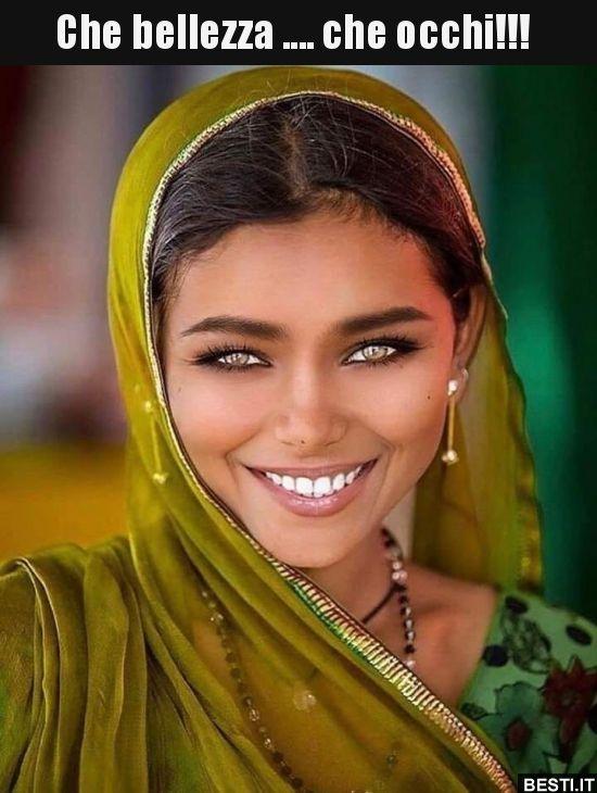 Che bellezza…. che occhi!!!..   BESTI.it – immagini divertenti, foto, barzellette, video