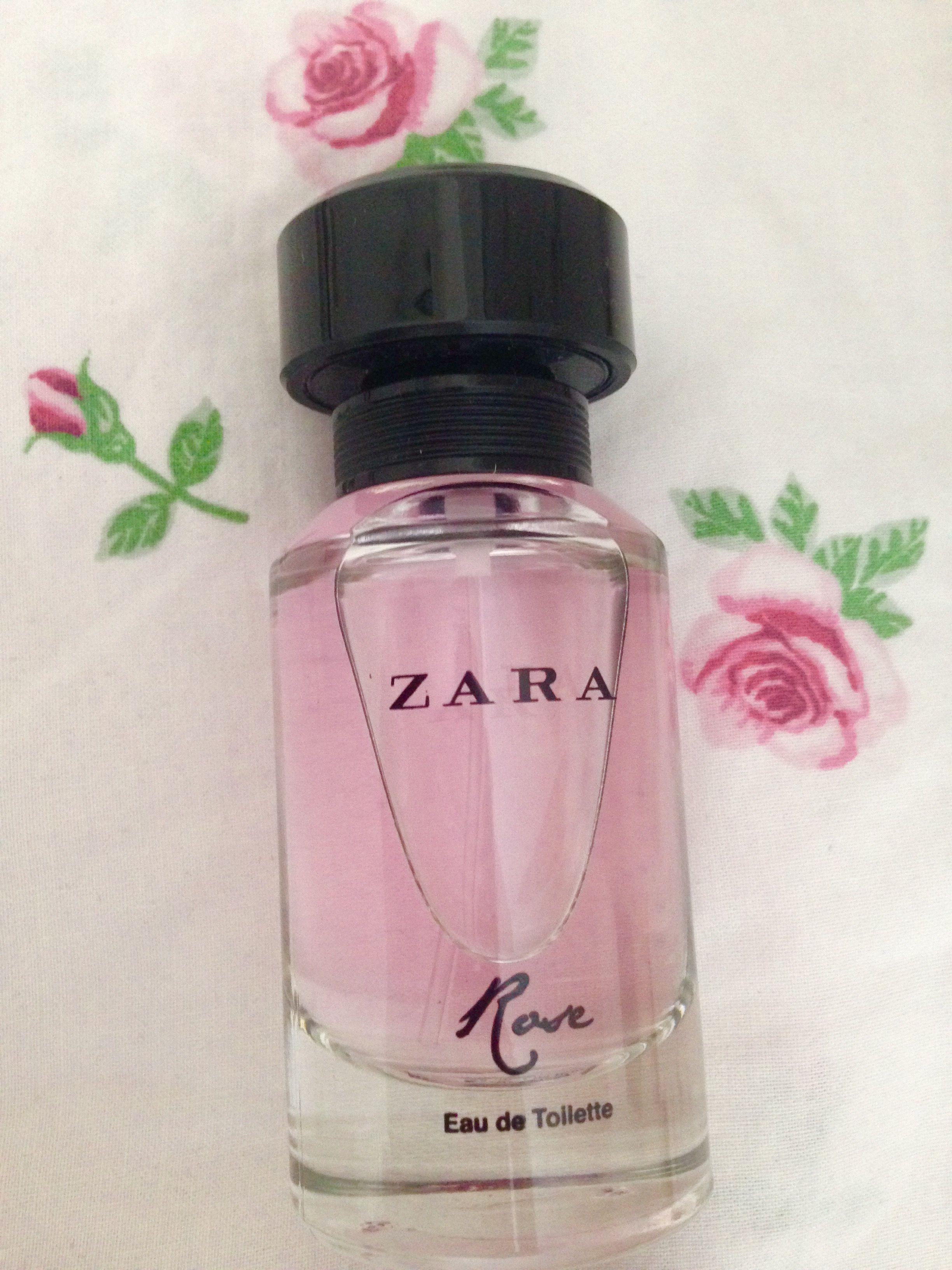 Zara Perfume Rose Elegantly Girly Pink Rose Love Pink Pink In