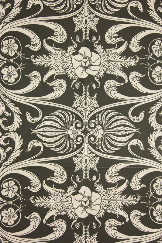 """Vintage Wallpaper /""""The Varell/"""" by Thomas Strahan"""