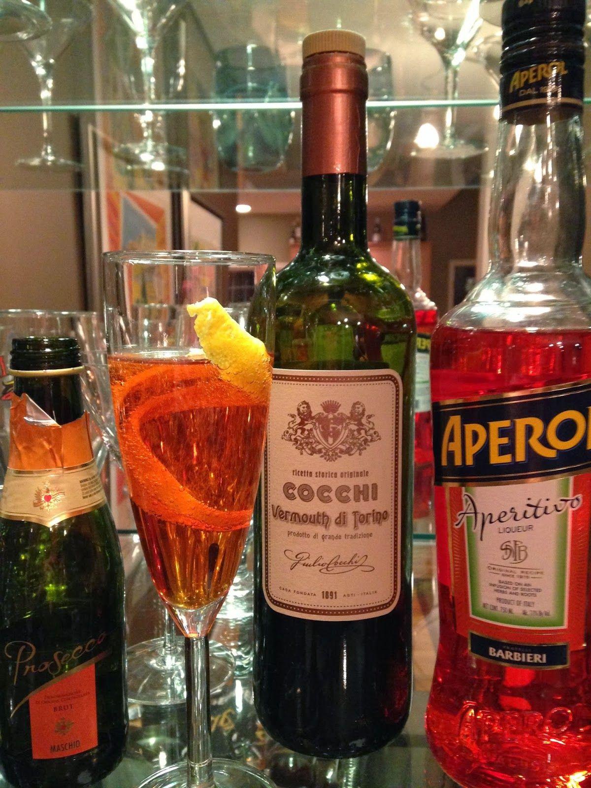 Cocktails & Gelato: Cocktail du jour: Aperol Sbagliato