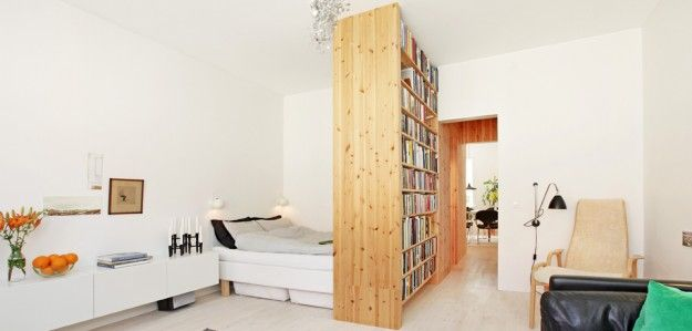 Scandinavian Retreat: Compact Living Living Room Divider, Living Room Sets,  Small Space Living
