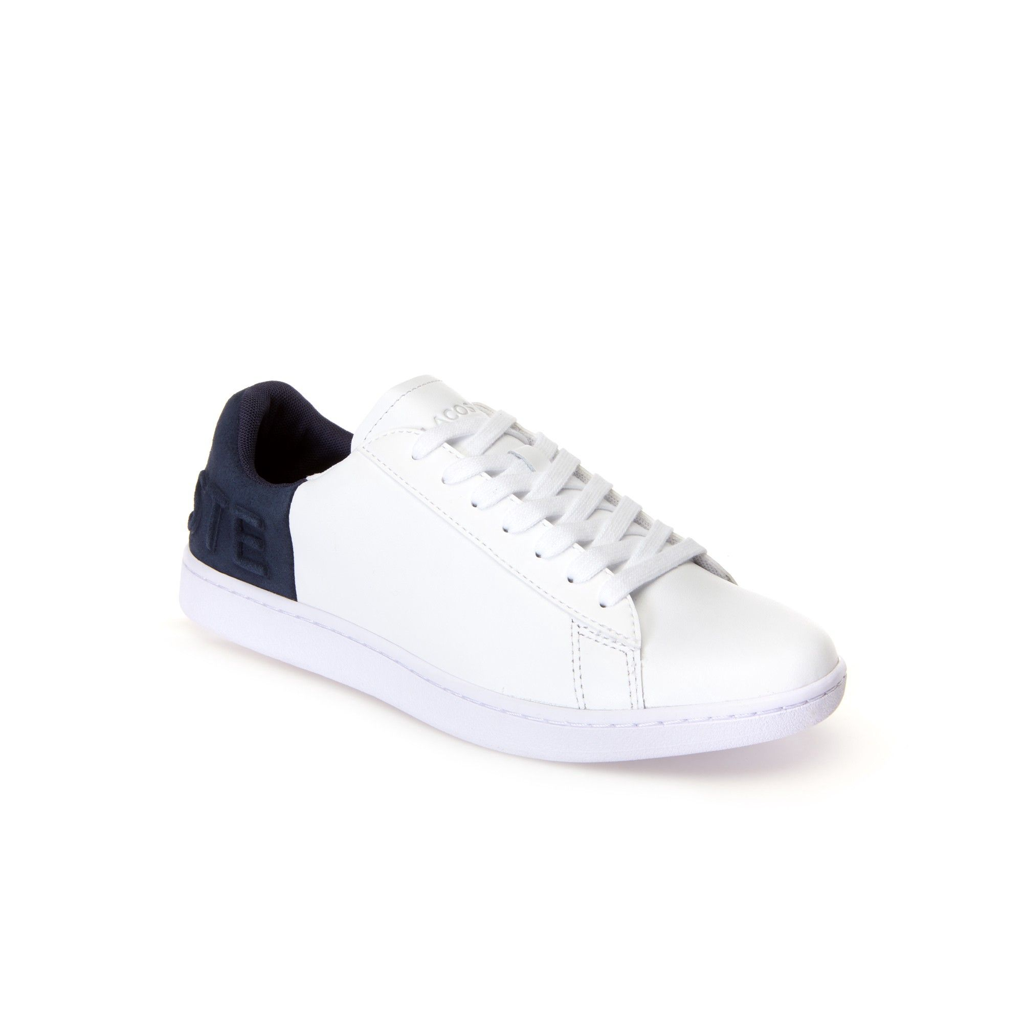 d7fd2afe2a Lacoste Women's Carnaby Evo Colour Block Leather Trainers - White ...