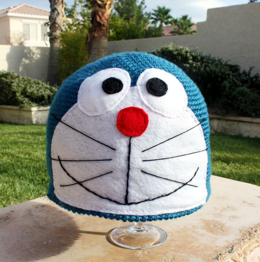 doraemon | Crochet ♥ Hat & Beanie | Pinterest