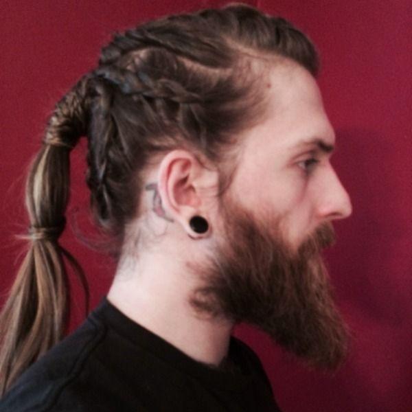 Viking Braids Hairstyles Long Hairstyles For Men