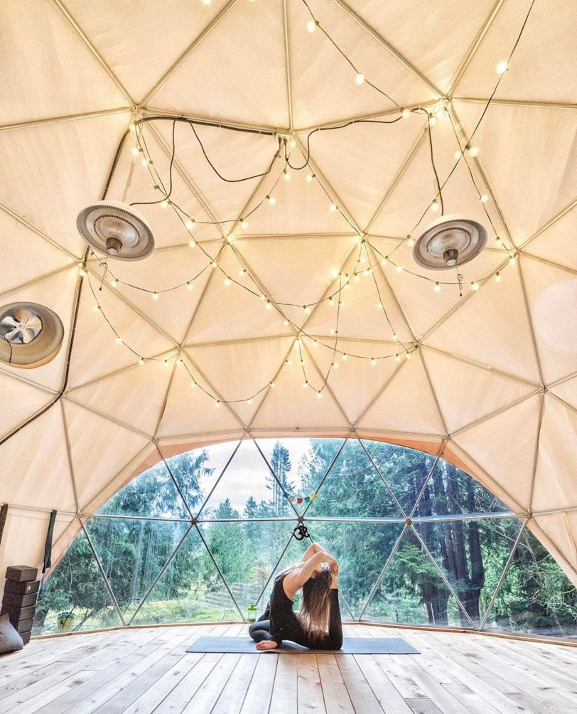 Event domes gallery glamping resorts event tent dome