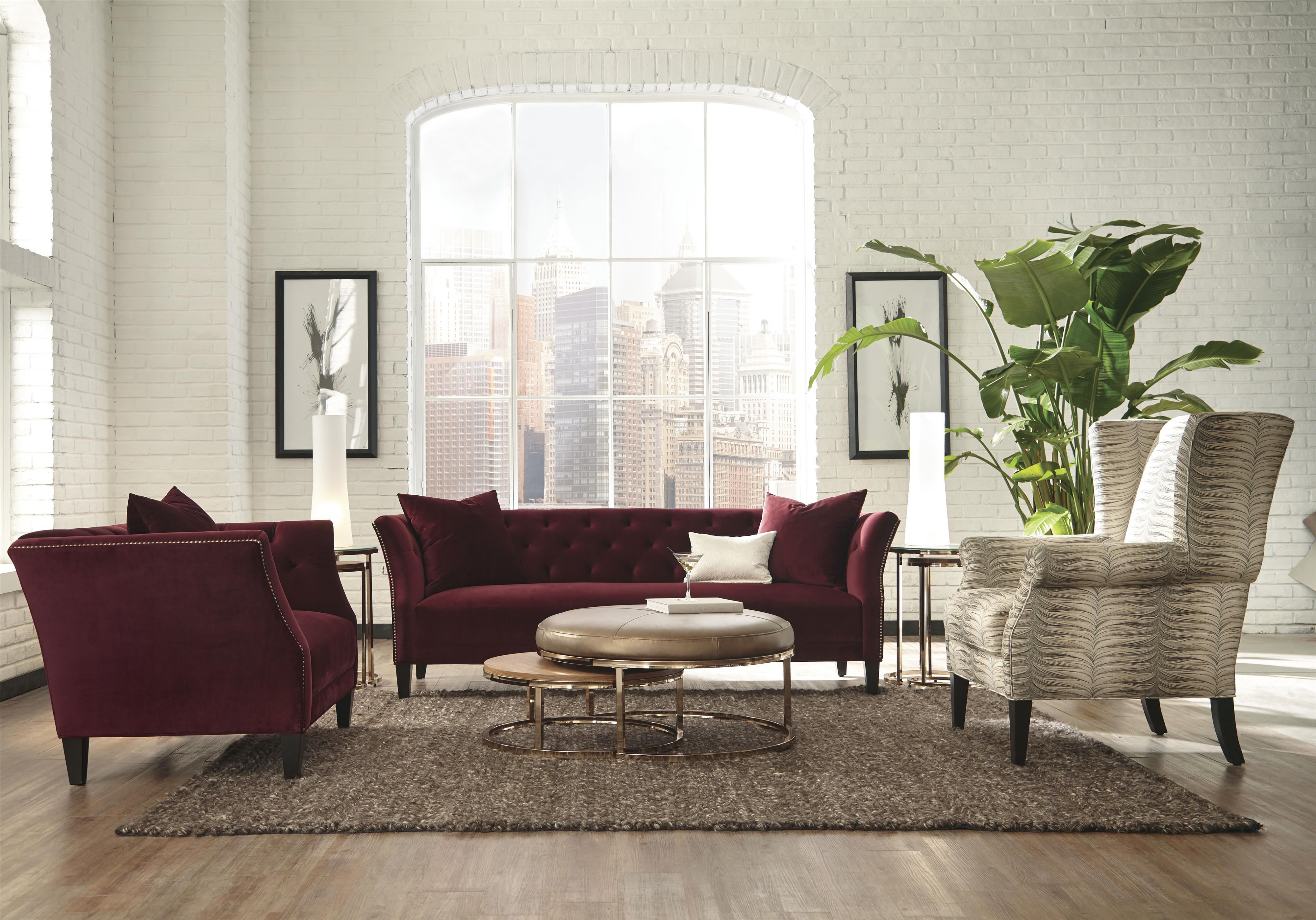 Layla Stationary Living Room Group by Jonathan Louis