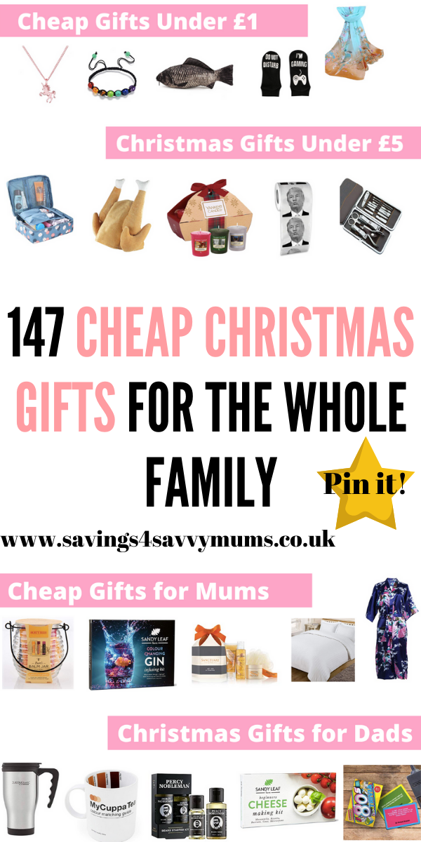 147 Cheap Christmas Gifts For the Whole Family Cheap