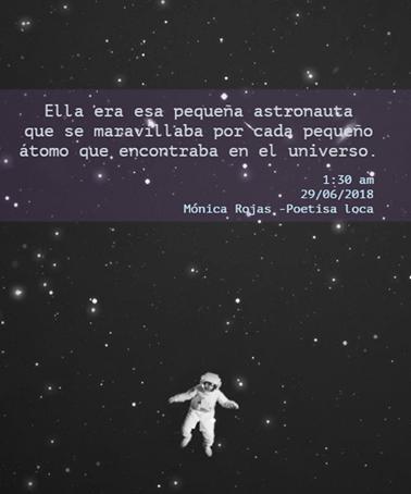 Ella Era Esa Pequeña Astronauta Astronauta Poetisa Loca Y