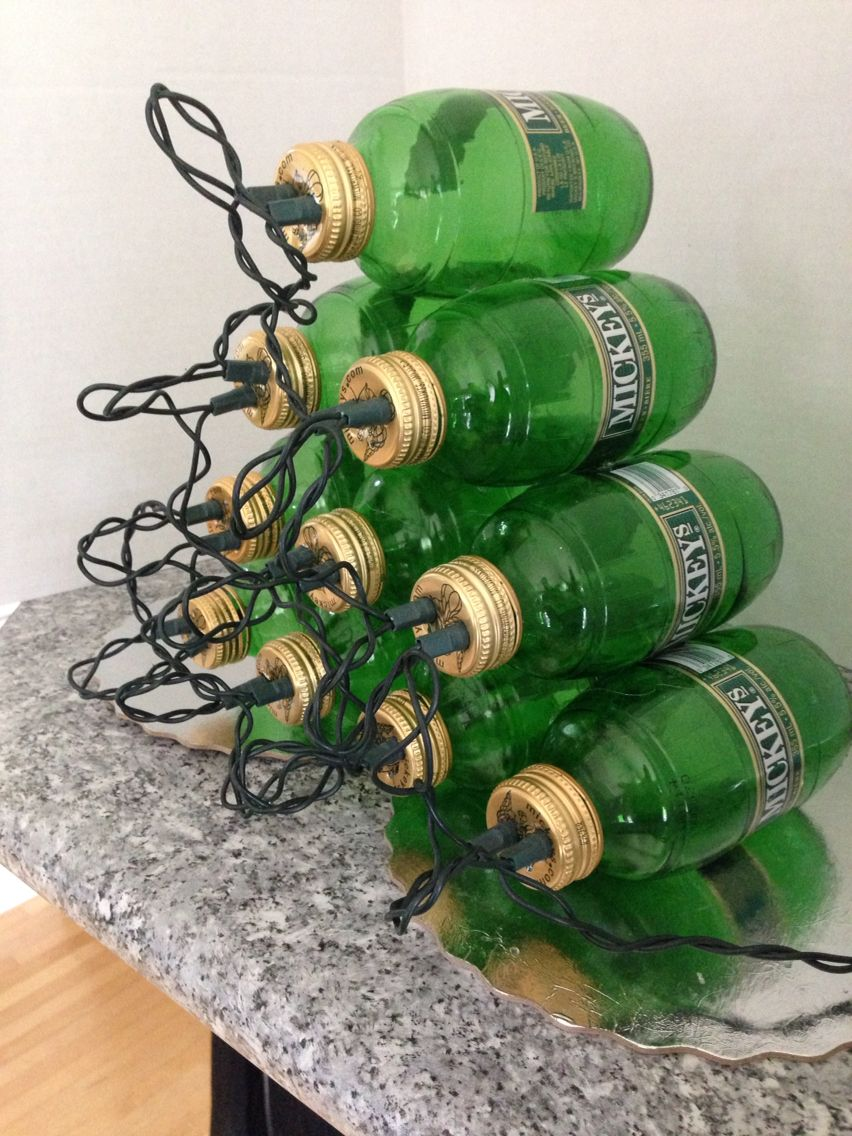 Mickey\'s beer bottle Christmas tree | Cool stuff | Pinterest | Beer ...