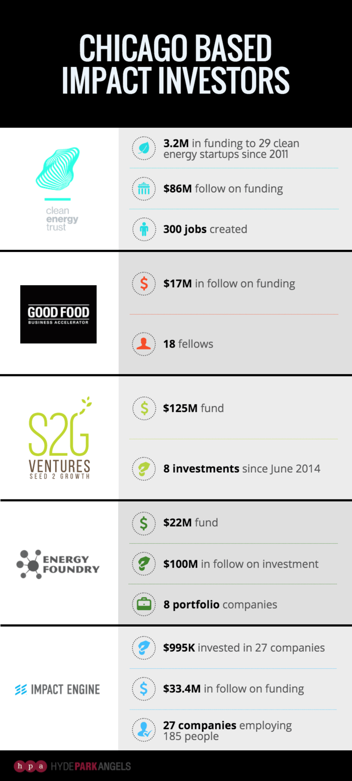 Impact Investing Infographic Template /// Make an investor
