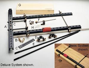 Veritas Tools Drilling Jigs System 32 Cabinetmaking System Diy