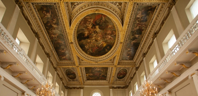 Ceiling Art by Rubens