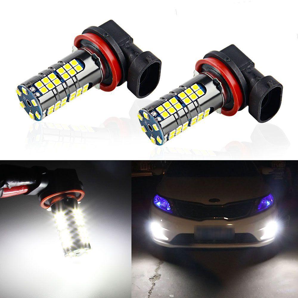 1X 9006 HB4 33 SMD LED Fog DRL Driving Auto Car Head Light Lamp Bulb White 660LM