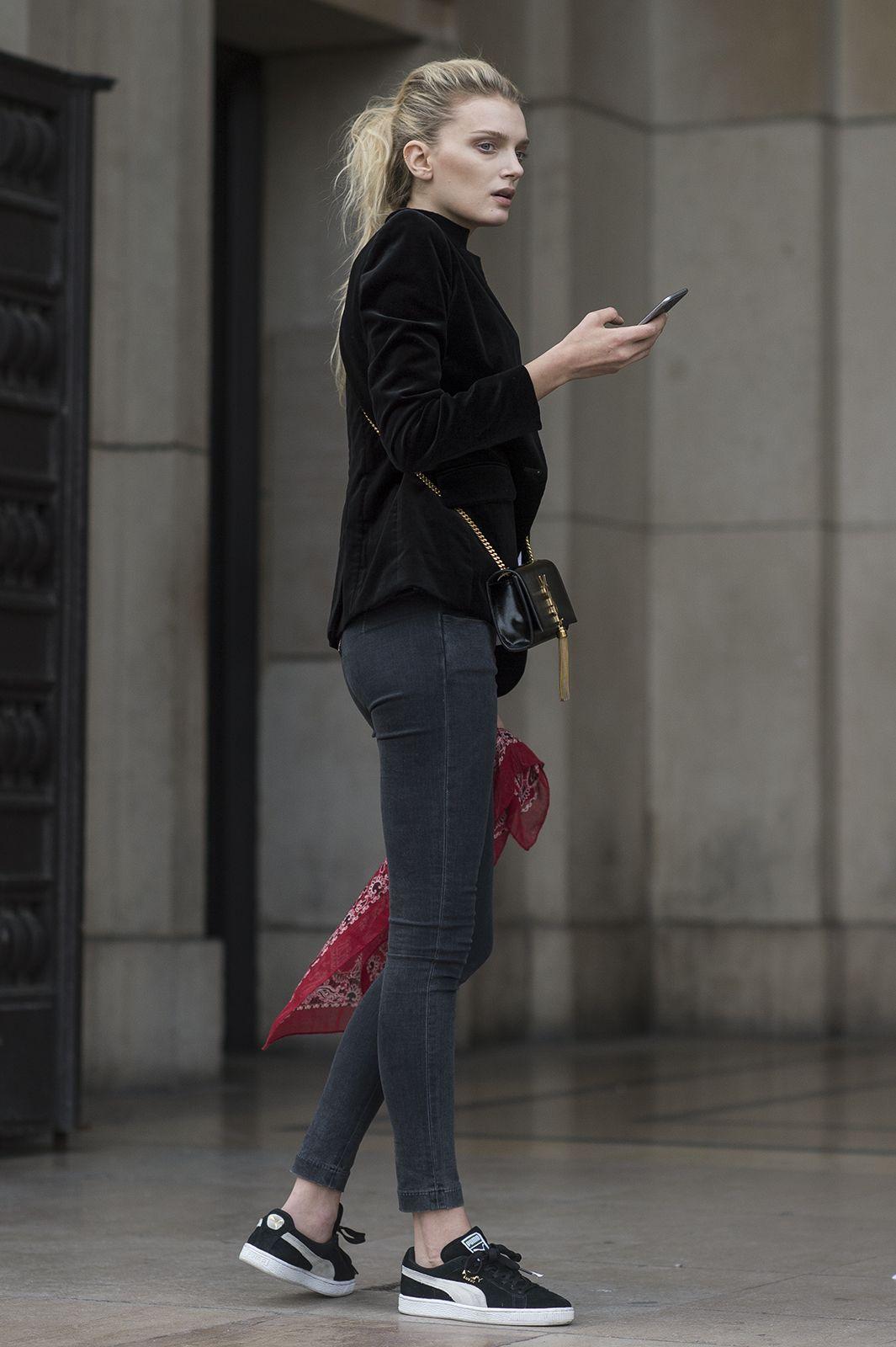 Lily Donaldson / Paris | Julien Boudet | http://bleumode.com