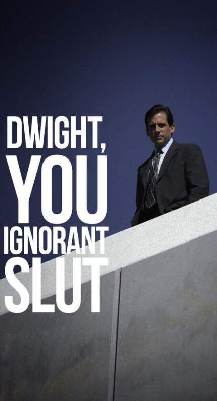 Wallpaper Iphone Funny The Office 3 Ios Wallpaper The Office Show Office Wallpaper Office Memes