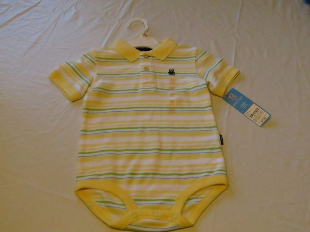 Carter's infant NWT bodysuit 12 months tedy bear boys