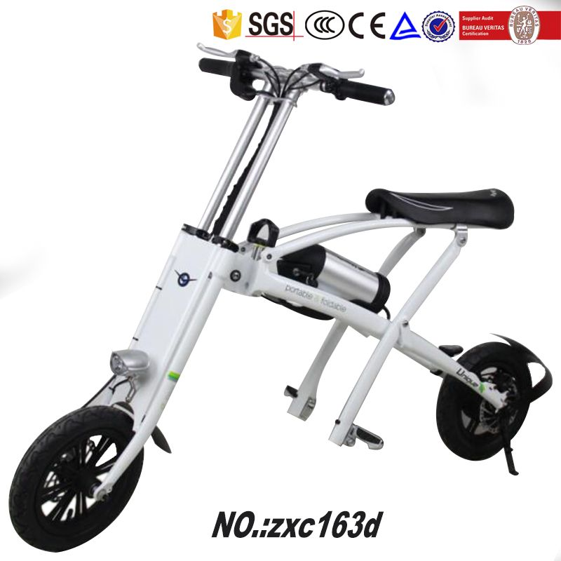 Popular In Europe And America Folding Electric Bicycle E