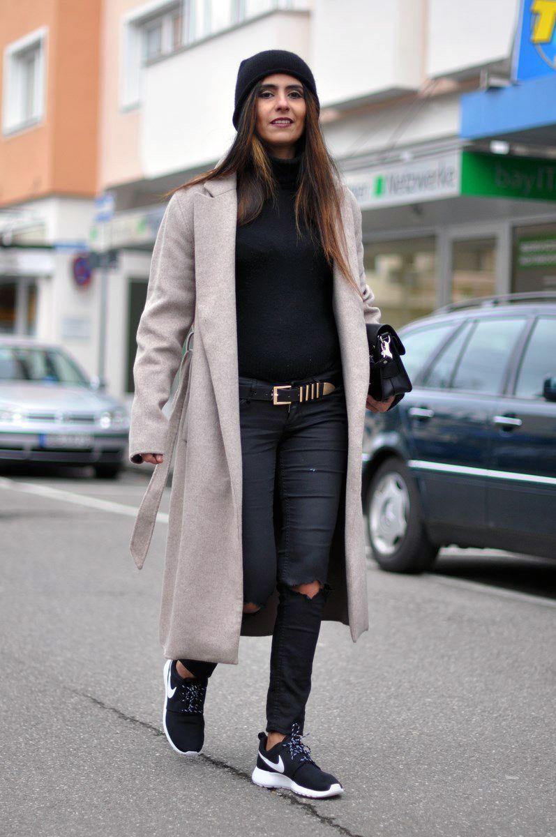 Nike Roshe Courir Glamour Femme Street Style