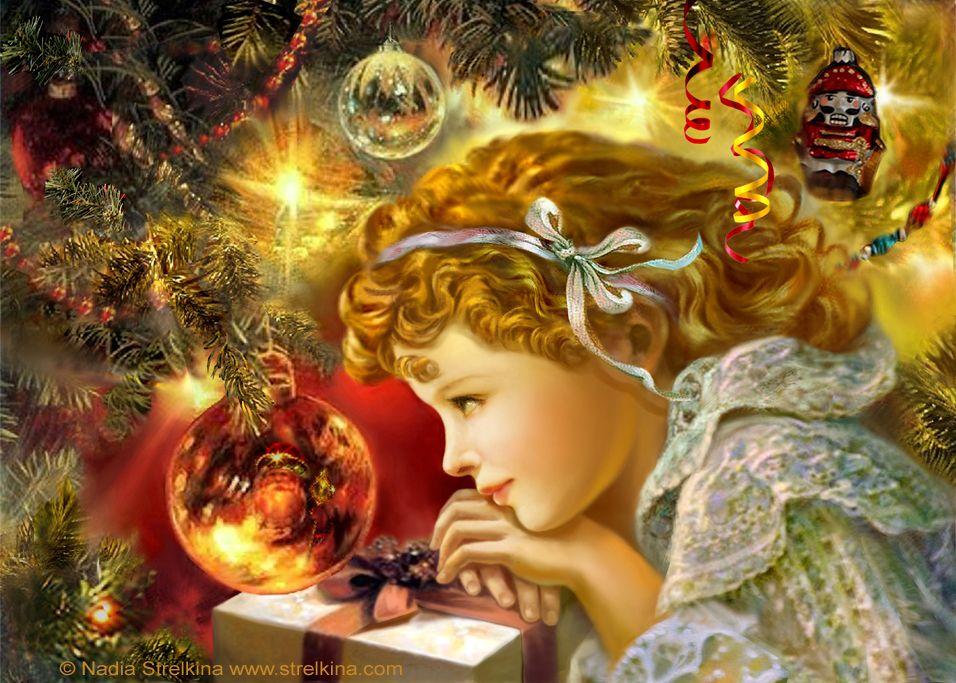Днем вдв, волшебство рождества картинки