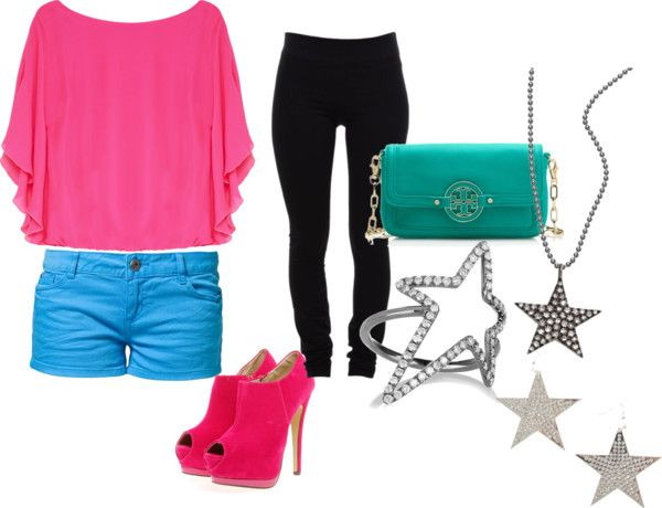 """#57 funk pink"" by jamie-s26 on Polyvore"