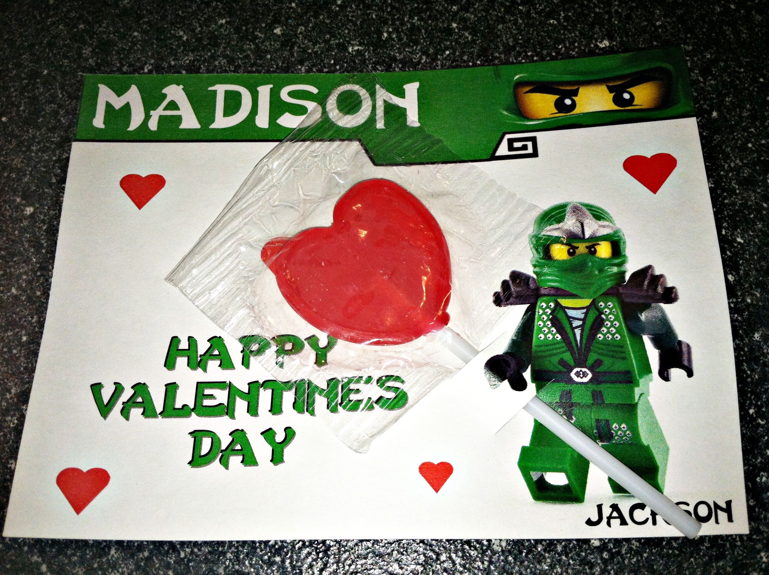 14 best ninjago valentines day cards images on pinterest